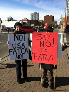 Calgary411 and Outraged Protesting