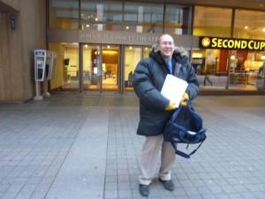 Petros - Toronto Protest November 13 a.m.
