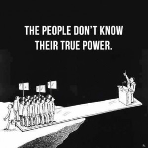 People Need to know what the government is doing (image by Peter Palms)