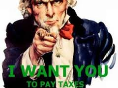 sam wants you to pay taxes