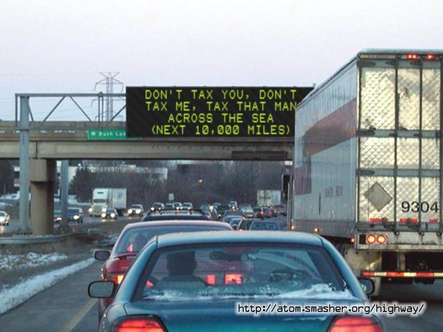 Highway-Sign