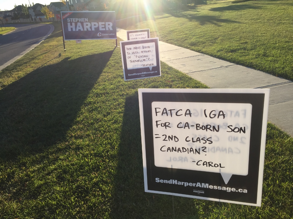 FATCA - 2nd Class Citizen Sign (1024x768)