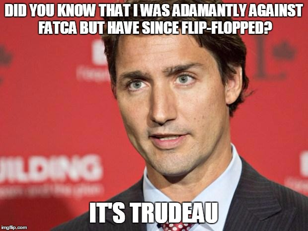 it's trudeau